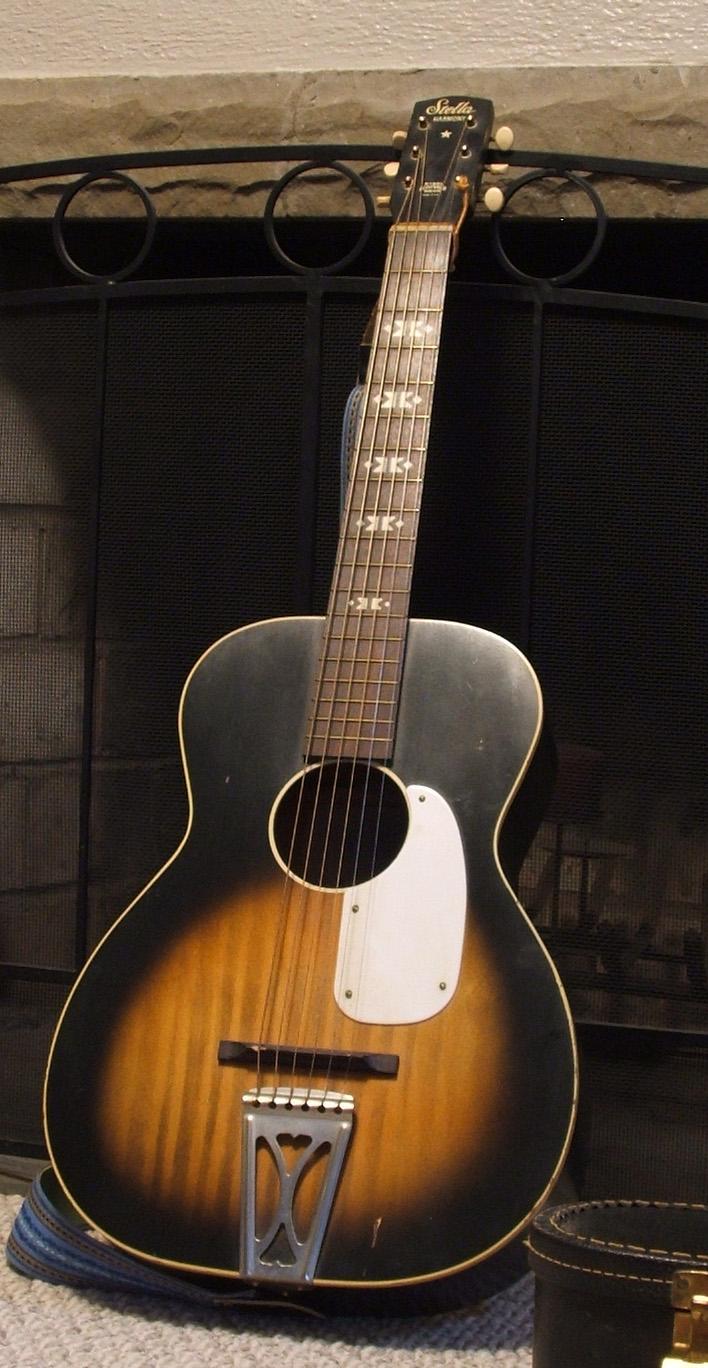 Guitar vintage serial numbers harmony Kay Guitar